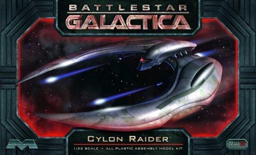 Moebius Models. Battlestar Galactica CYLON Raider 1/32 scale by Moebius Models