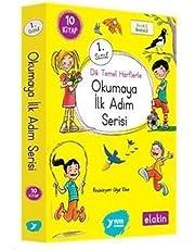 Okumaya İlk Adım Serisi 1.Sınıf - Dik Temel Harflerle (10 Kitap Takım)