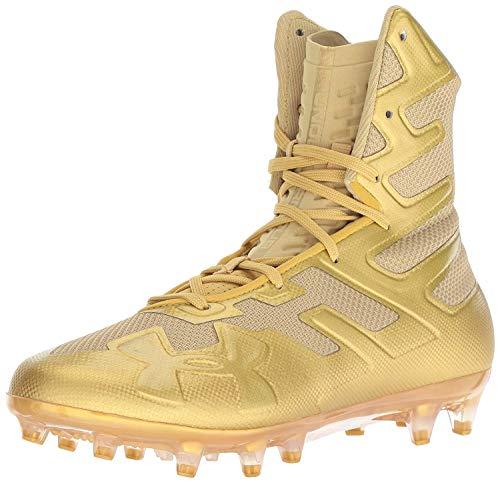Under Armour Herren Highlight MC Fußball Stollenschuh, Gold (Metallic Gold (900)/Metallic Gold), 41 EU