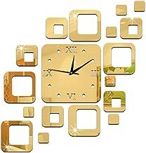 ساعة حائط بلاستيك بدون منبه ، انالوج - بطارية AA