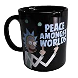 Rick and Morty Print Coffee Mug Cup - Peace Amongst Worlds
