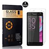 Sony Xperia E5 Screen Protector Tempered Glass, Bear Village® HD Screen Protector, 9H Scratch Resistant Screen Protector Film for Sony Xperia E5, 2 Pack