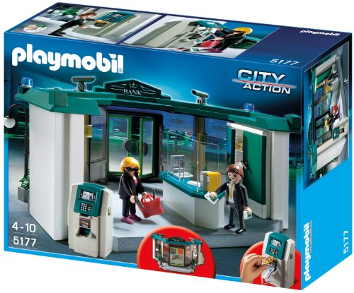 Playmobil 5177 - Bank mit Geldautomat
