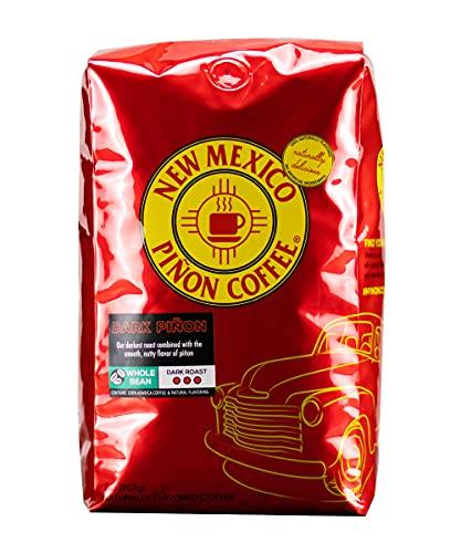 New Mexico Piñon Coffee Naturally Flavored Coffee (Dark Piñon Whole Bean, 2 pound)