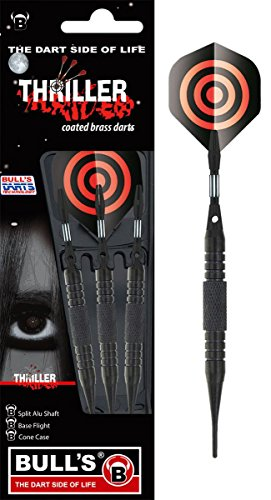 Unbekannt BULL'S Thriller Soft Dart Diamond Flight Teufel Pfeile 16g