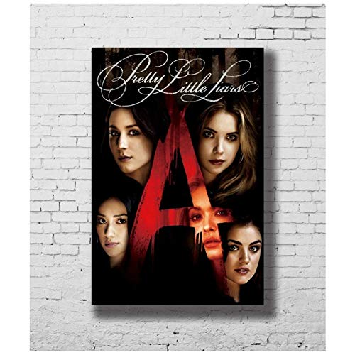 wzgsffs Pretty Little Liars TV Show Hot Art Poster Canvas Painting Home Decor Welcome to Photo Customization -50x75cm No Framed