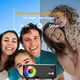 Zoom IMG-2 mini proiettore portatile artlii lcd