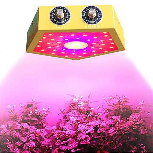 XZYP Pflanzenleuchten Für Innenanlagen, 2019 Verbesserte Version 1000W Led Blumenzwiebel Full Spectrum Wachsen Licht Für Zimmerpflanzen Gemüse, Doppelschalter