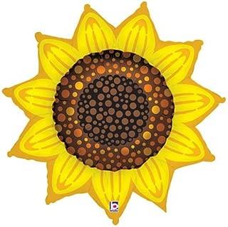 Sunflower 42 Inch Mylar Balloon
