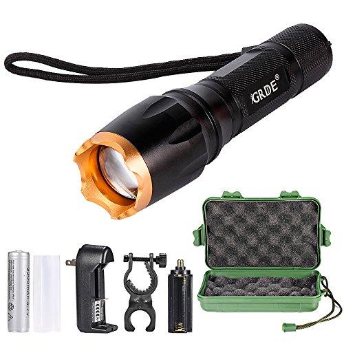 Linterna LED, Linterna Foco Ajustable y...