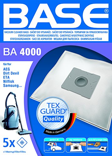 BASE BA4000 Staubsaugerbeutel