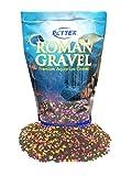 Pettex Roman Grava de Acuario, Multicolor (Neon Sprinkles), 2 kg