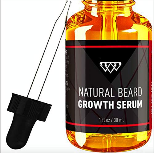 Oragnic Natural Hair Growth Serum for Men - Vegan, Organic - Growth, Styling, Conditioning