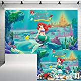 Under The Sea Mermaid Supplies Photography Backdrop...