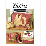 McCall's Patterns M5017 Sewing Machine Cover and Accessories, One Size Only