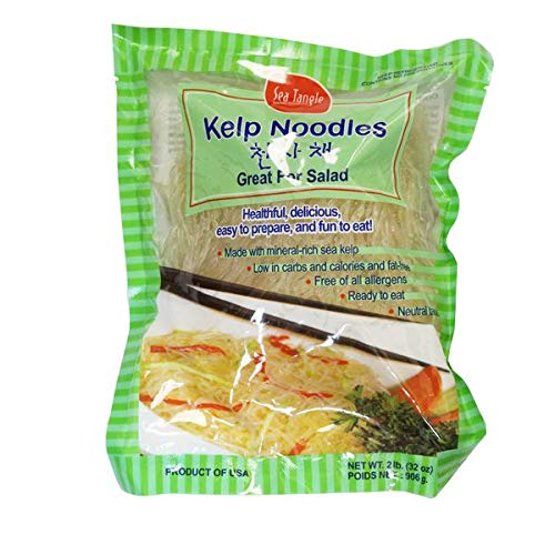 Sea Tangle Kelp Noodles - 906g | kalorienarme Nudeln | Shirataki | nur 6 kcal je 100g