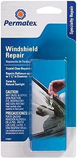 Permatex 16067 Bullseye Windshield Repair Kit, .025 oz. Syringe