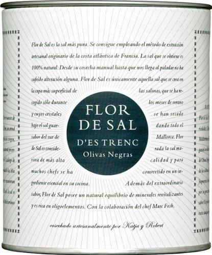 Flor de Sal d'Es Trenc Olivas Negras Flor de Sal - 150 gr