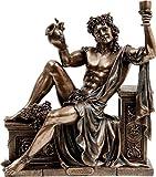 Greek/Roman God Dionysus God of Wine (Decorative Bronze Statue/Sculpture 21x25cm / 8.26x9.84in)