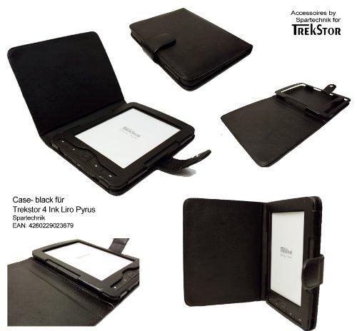 Spartechnik Tasche für Trekstor 4 Ink 4ink 4.0 Hugendubel Bertelsmann Weltbild Trekstor Liro Ink TrekStor Pyrus E-Book Reader - bestes Case für Trekstor 4 - schwarz