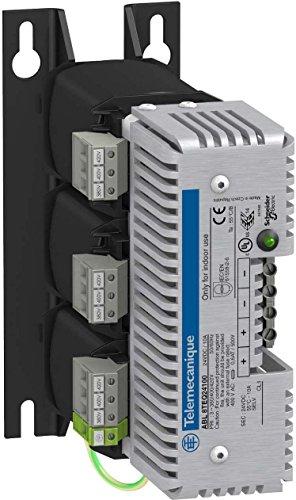 Schneider Electric ABL8TEQ24100 Fuente de Alimentación Rectificada y Filtrada, 3 Fases, 400V CA, 24V, 10A, 78mm x 190mm x 85mm