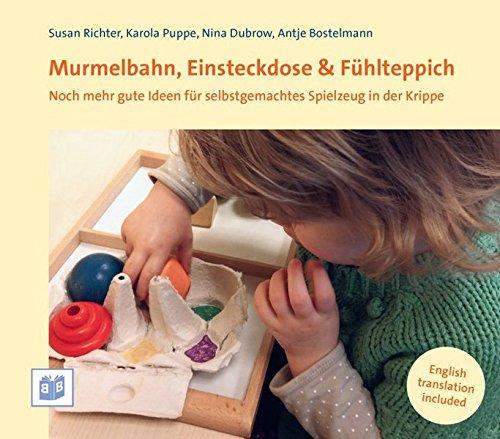 Murmelbahn, Einsteckdose & Fühlteppich: Ideen für selbstgemachtes Spielzeug in Krippe und Kita