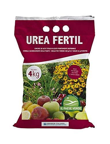 Urea (Urea Fertil) (4 Kg), concime granulare per orto e piante