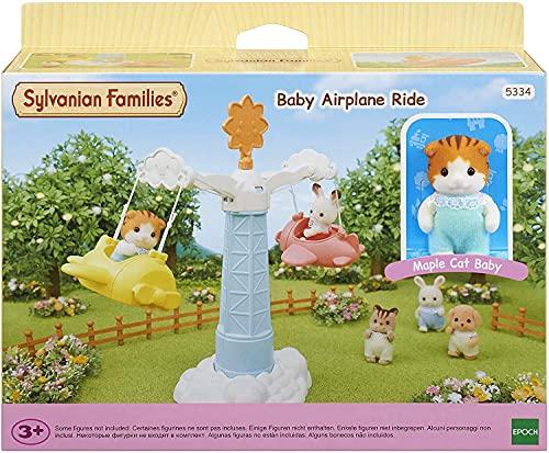 Sylvanian Families - Le Village - Le Manège Volant des Bébés - 5334 - Crèche des Bébés - Mini Poupées