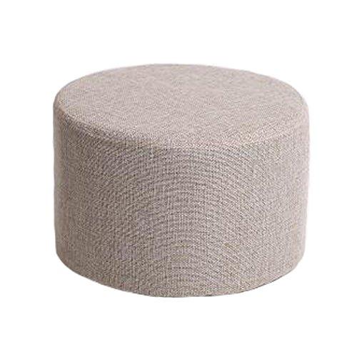 Haushalts-kreativer runder Schemel-Sofa-Schemel-Schemel mit abnehmbarer Abdeckung, A