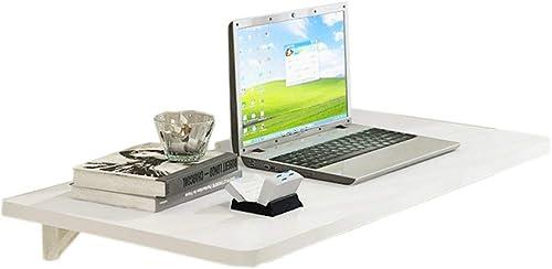 ahorrar en el despacho ZHAS ZHAS ZHAS Escritorio de Estudio de computadora Montado en la Parojo Mesa Plegable Cocina Comedor Organizador Muro de Parojo Estación de Trabajo de Hoja blancoa (Tamaño  100 y Tiempos; 50 cm)  cómodamente