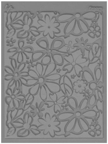 JHB International Inc Great Create Lisa Pavelka Individual Texture Stamp 4.25'X5.5' 1/Pkg-Groovy