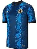 Nike - Inter de Milán Temporada 2021/22 Camiseta Primera Equipación Equipación de Juego, M, Hombre