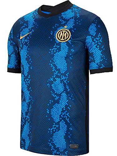 Nike - Inter de Milán Temporada 2021/22 Camiseta Primera Equipación Equipación de Juego, L, Hombre