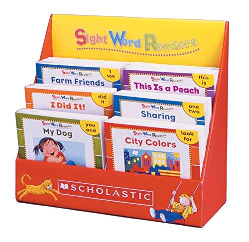 Biblioteca de leitura Scholastic Sight Words, conjunto com 125