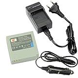 DSTE Repuesto Batería y DC50E Viaje Cargador kit para Samsung IA-BP85ST VP-HMX08 VP-HMX10 VP-HMX10C VP-HMX20C VP-MX10 VP-MX20 VP-MX25 HMX-H100 HMX-H104 HMX-H105 HMX-H106 SC-HMX10 SC-HMX20C SC-MX10