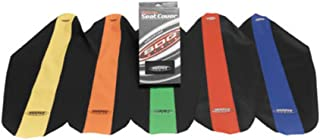 SDG USA Dual-Stage Gripper Seat Cover, Red Top with Black Sides