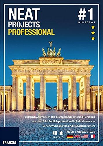 FRANZIS NEAT projects professional|1|Für bis zu 3 Geräte|32 & 64 Bit App|Fotosoftware für PC & Mac|Disc|Disc