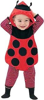 a00120cde176c Oyedens 3 Pièces Unisexe Costume De Vêtements pour Bébés Coccinelle Nouveau-Né  Bébé Combinaison Bébé