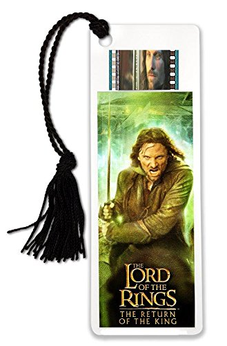 Lord of The Rings - Aragorn - Return of The King - FilmCells Bookmark - Features Real Clip of 35mm Film