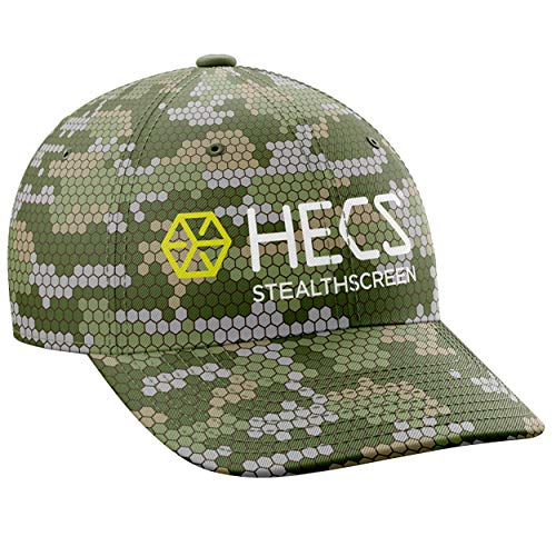 HECS Hunting HECStyle Stealthscreen Camo Hats for Men and Women, Outdoor Clothes and Accessories - Sun Hat for Turkey and Deer Hunting, Fishing, Running, Camping, and More - Anywhere Camo