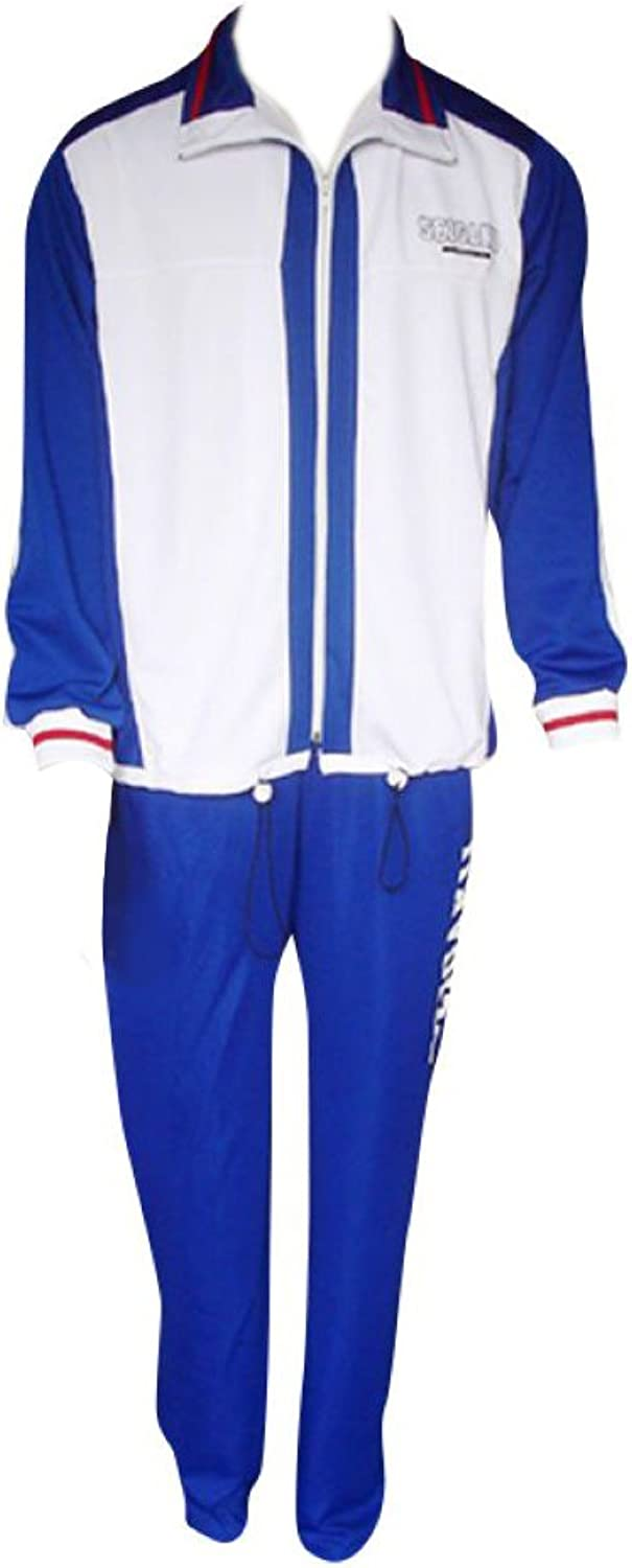 Dream2Reality Japanese Anime Prince of Tennis Cosplay Costume - Seigaku High School Winter Sport Outfit Kid Size Large
