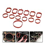 happy time 6 PCS Kit de reparación de Entrada de manipulaciones de admisión Adecuada para BMW 32 0d 330d 520d 525d 530d 730d