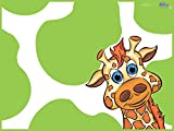 KidKusion High Chair Splat Mat, Green by KidKusion