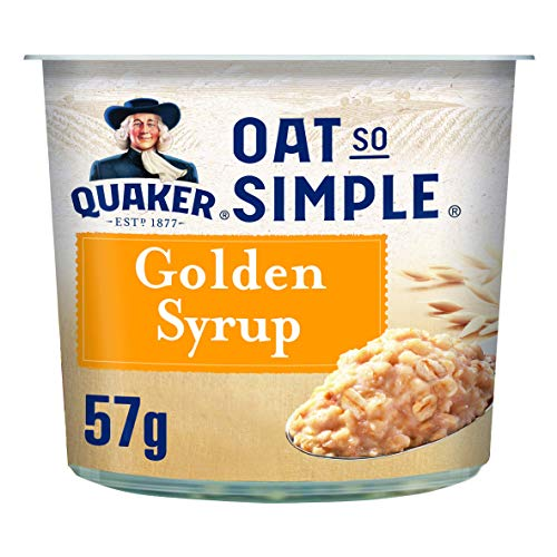 Crema de Avena de Jarabe Dorado Quaker Oat So Simple Express 57g (Paquete de 8)
