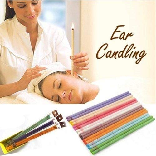 10 stks Sneller Oor Kaarsen Therapie Rechte Stijl Oor Zorg Oor Kaars Aromatherapie Indische Oor Kaarsen Bijenwas