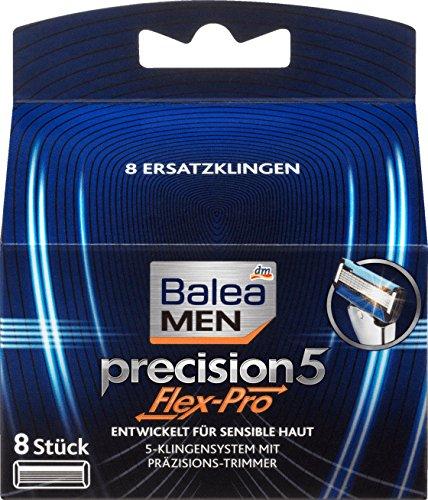 Balea MEN Rasierklingen precision5 Flex-Pro, 8 St