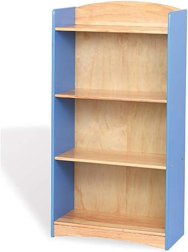 Descuento del 70% barato ZHAS ZHAS ZHAS Estantería Librería de Madera Maciza Guardamuebles Guardamuebles (Color  azul)  todos los bienes son especiales