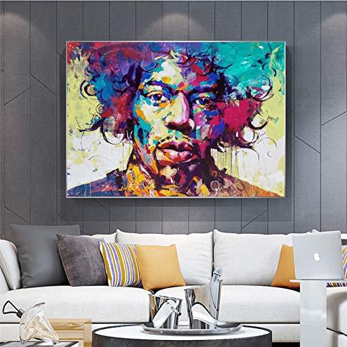N / A Rahmenlose Malerei Kreative Moderne Wohnkultur Malerei Leinwand Dekoration Persönlichkeit Wandbild Poster Wohnzimmer DekorationZGQ5681 40X60cm