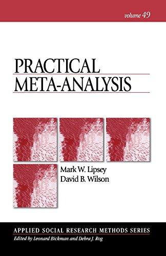 Practical Meta-Analysis (Applied Social Research Methods)