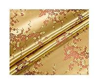 JZGS 着物チャイナドレスやバッグを縫うために使用ジャカード生地サテンヴィンテージファブリックブロケード、 (Color : 4, Size : 45X90cm (0.5 yards))